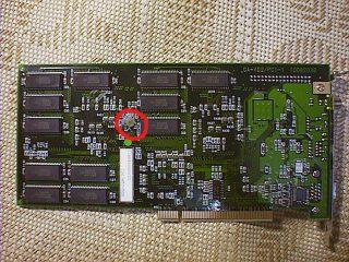 GA-VDII12/PCIの裏