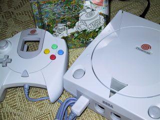 Dreamcast(セガのゲーム機買ったのは始めて)